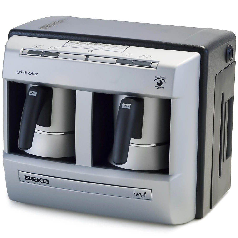 Beko 2113 Keyf Automatic Turkish Coffee Machine - Double Pot - Beko - Pazarska