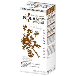 Solante Atopica Sun Care Lotion Spf 50+ 150 ml Sun Cream - Solante - Pazarska