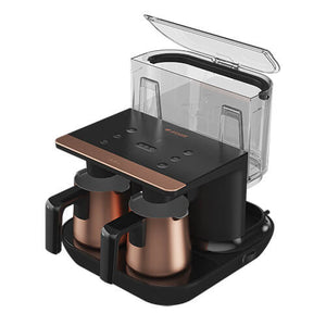 Arcelik TKM 9961 B Telve Automatic Turkish Coffee Machine - Double Pot - Arcelik - Pazarska