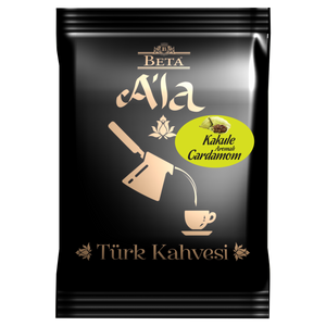 Beta A'la Turkish Coffee with Cardamom - 100g - Beta - Pazarska