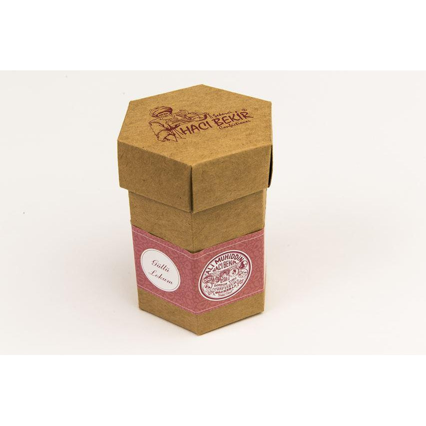 Haci Bekir Rose Flavoured Turkish Delight 125 g - Haci Bekir - Pazarska