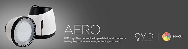 AERO LED HIGH BAY BLACK BODY