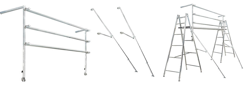 Altech supasafe handrail kit for trestle and plank system