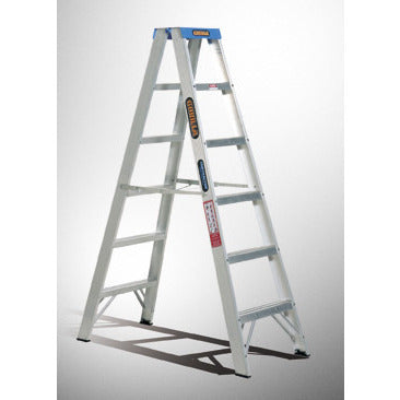 Gorilla Double sided A-frame ladder 2.4m (8ft) 120kg Industrial