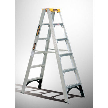 Gorilla Double sided A-frame ladder 2.4m (8ft) 150kg Industrial