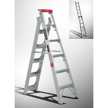 Gorilla Dual purpose ladder 1.8-3.3m (6-11ft) 120kg Domestic