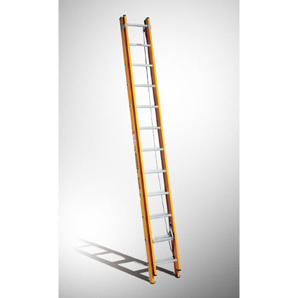 Gorilla Extension ladder 3.7-6.5m (12-21ft) 130kg Industrial Fibreglass