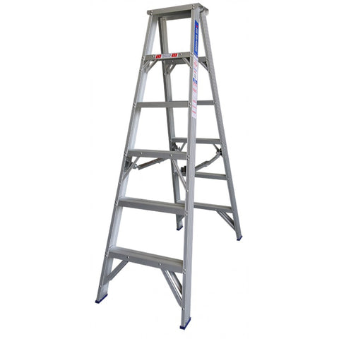 Indalex Pro Series Aluminium Double Sided Step Ladder 1.8m 6ft