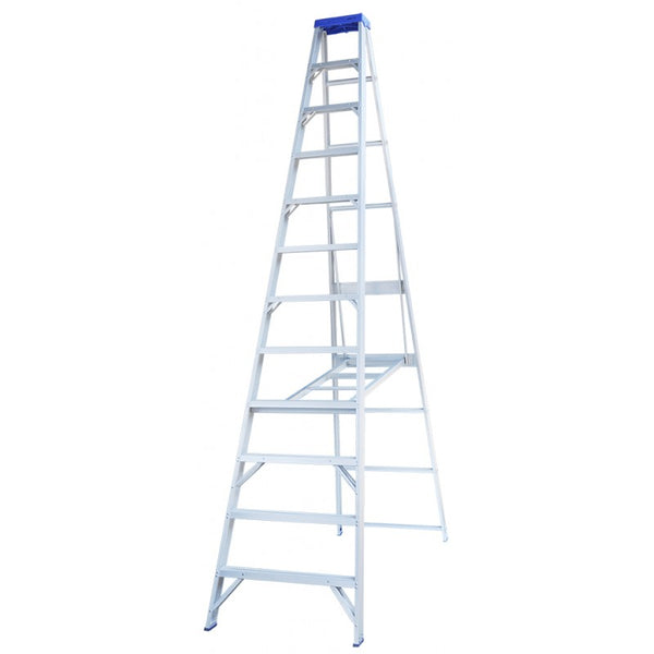 Indalex Pro-Series Aluminium Single Sided Step Ladder 4.2m 14ft
