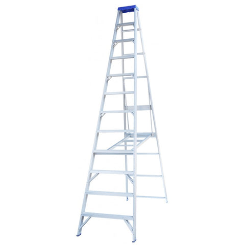 Indalex Pro-Series Aluminium Single Sided Step Ladder 4.3m 14ft