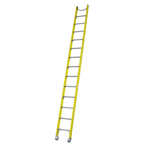 Indalex Pro-Series Fibreglass Single Ladder 3m 10ft