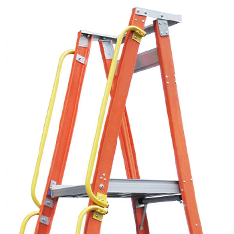 Indalex Side Hand Rails For Pro-Series Platform Ladders