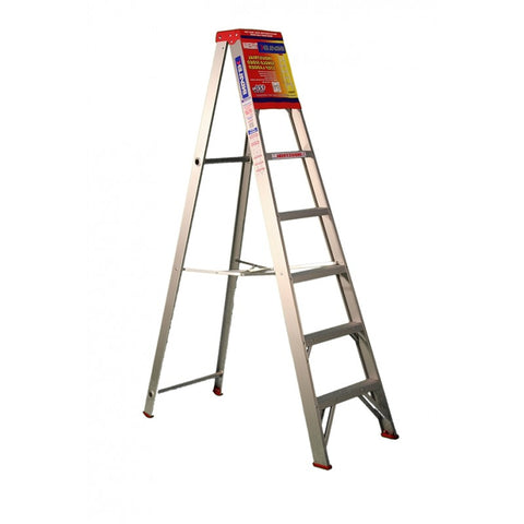 Indalex Tradesman Aluminium Single Sided Step Ladder 2.1m 7ft