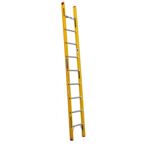 Indalex Tradesman Fibreglass Single Ladder 3.0m 10ft