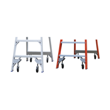 Indalex Pro-Series Fibreglass Platfrom Ladder Accessory Wheel Kit PROPF5/2 & PROPF6/3 - Access World
