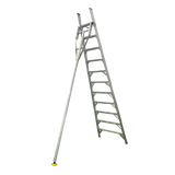 Indalex Pro-Series Aluminium Orchard Ladder 3.0m/10f - Access World - 1