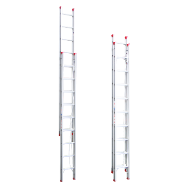 Indalex Tradesman Aluminium Extension Ladder 3.8m-6.6m - Access World - 1