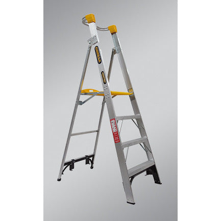 Gorilla Platform ladder Aluminium 8 Step (Platform Height 2.4m) 150kg Industrial