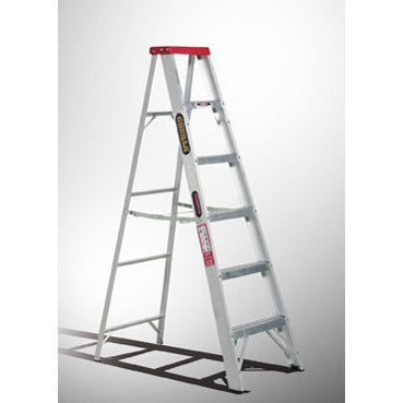 Gorilla Single sided A-frame ladder 2.4m (8ft) 120kg Domestic