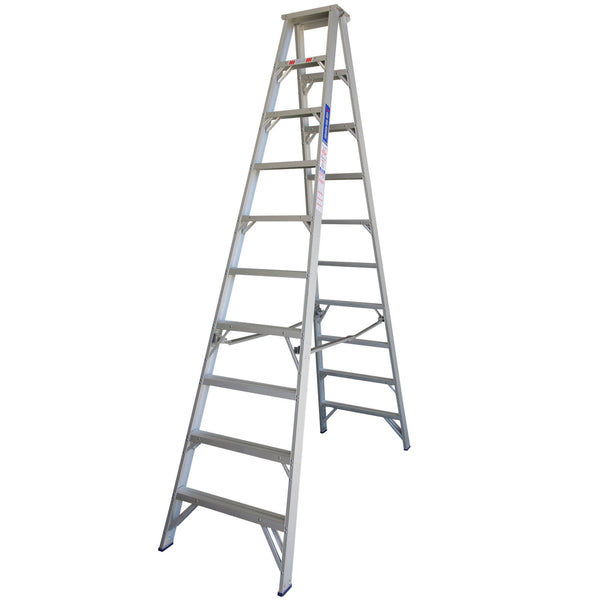 Indalex Pro Series Aluminium Double Sided Step Ladder 3.0m 10ft