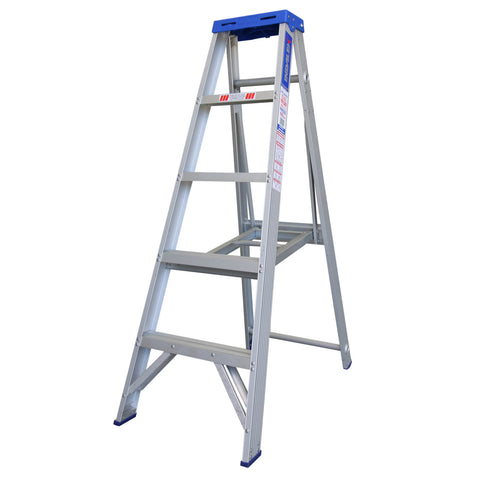 Indalex Pro-Series Aluminium Single Sided Step Ladder 1.2m 4ft