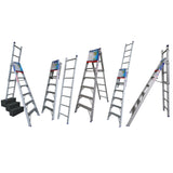 Indalex Pro Series Aluminium 5 Way Combination Ladder 2.1m - 3.5m