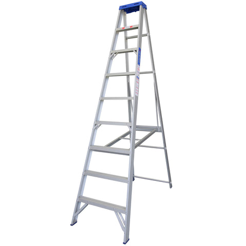 Indalex Pro-Series Aluminium Single Sided Step Ladder 2.4m 8ft