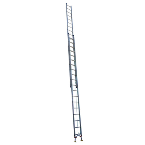 Indalex Pro Series Aluminium Extension Ladder 6.3m - 10.8m with Level-Arc