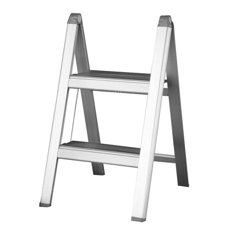 Indalex Domestic Aluminium Slimline Ladder 0.52m 2ft