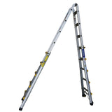 Indalex Pro Series Aluminium Telescopic Ladder 1.6m - 5.4m