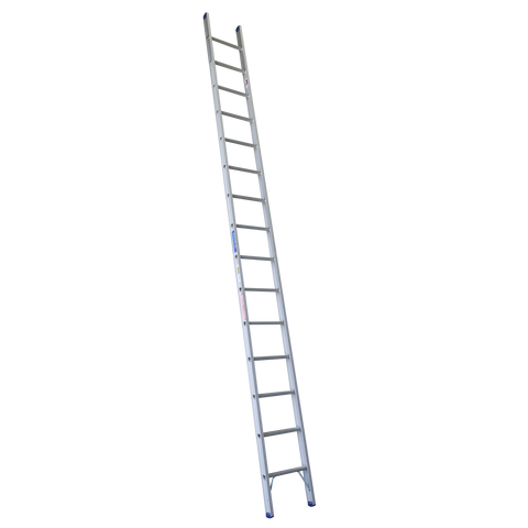 Indalex Pro Series Aluminium Single Straight Ladder 4.9m 16ft