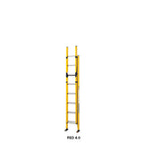 Branach PowerMaster Fibreglass Extension Ladder 2.7m - 4.0 m