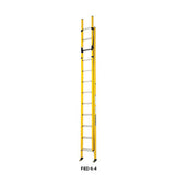 Branach PowerMaster Fibreglass Extension Ladder 3.9m - 6.4m