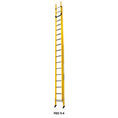 Branach PowerMaster Fibreglass Extension Ladder 5.8m - 9.4m
