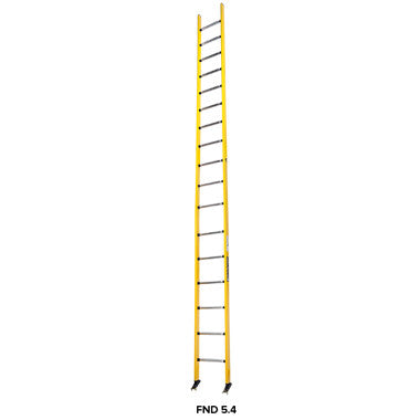 Branach PowerMaster Fibreglass Single Ladder 5.5m