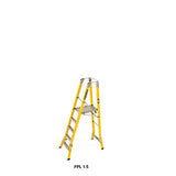 Branach WorkMaster Wide 550mm 5 Step Platform Ladder (Platform Height 1.5m)