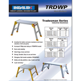 Indalex Tradesman Aluminium Work Platform - Access World - 2