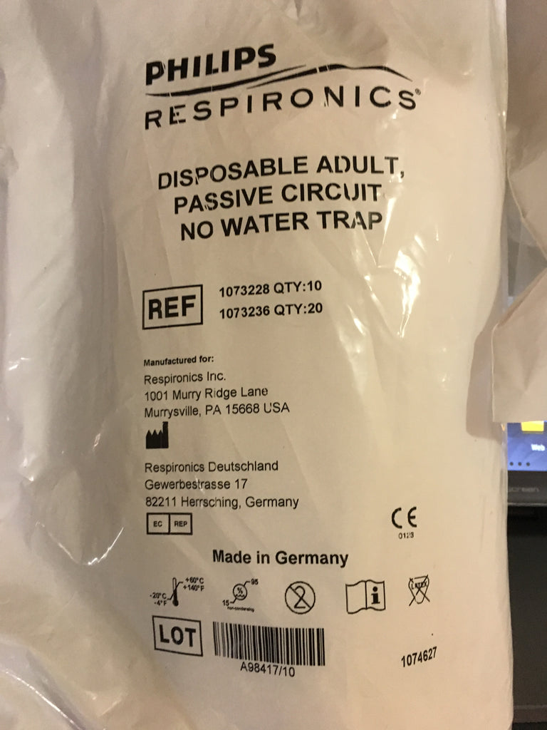 Circuit, Disposable Adult, Passive