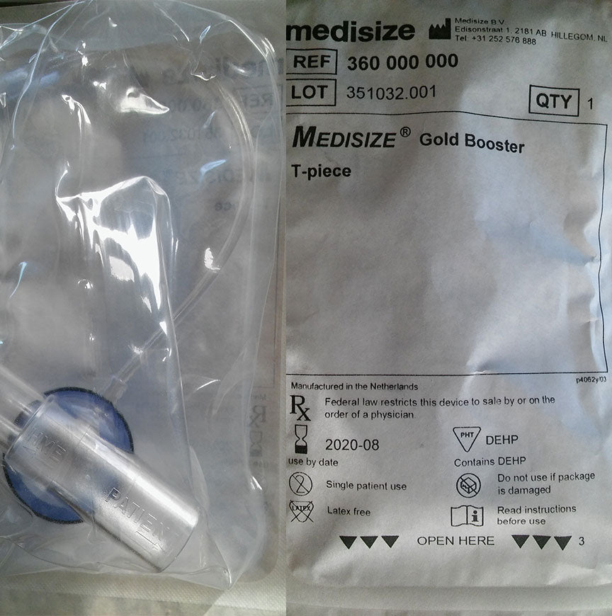 Medisize Gold Booster T-piece