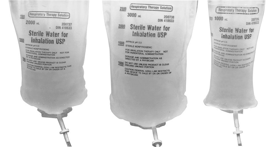 Sterile Water for Inhalation, 1000 mL