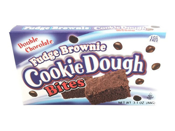 Cookie Dough Bites Fudge Brownie 3.1oz/88g