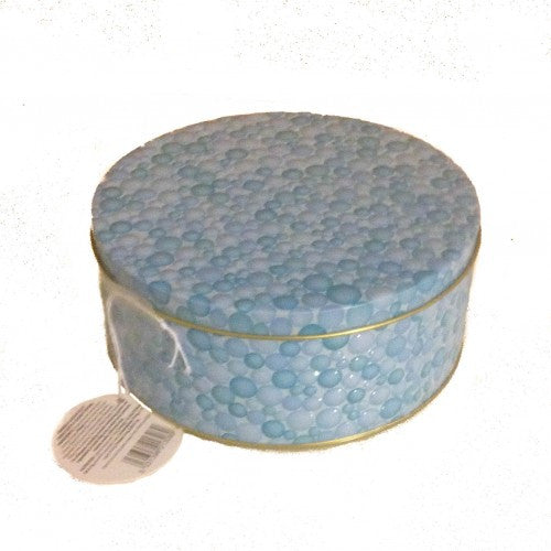 Blue Jelly Button Tin