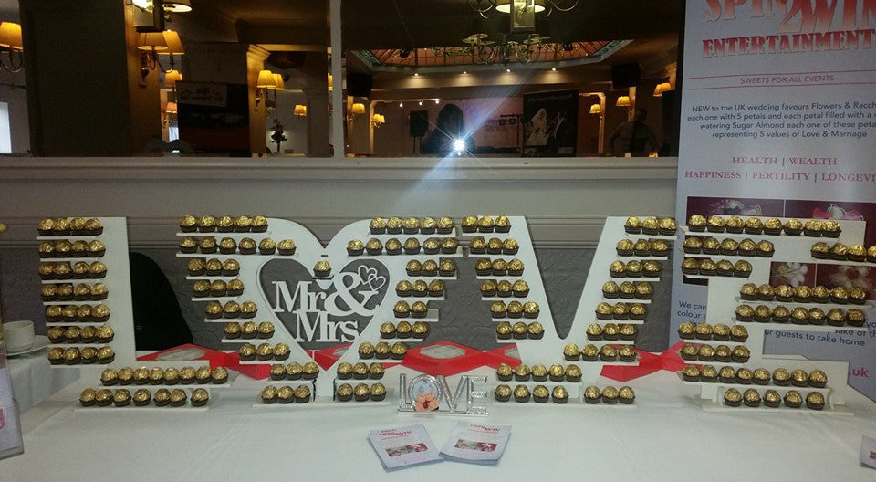 Ferrero Rocher LOVE Letters for Hire Only