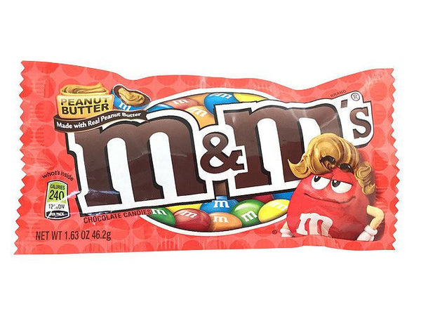 M&M's Peanut Butter 1.63oz/46.2g