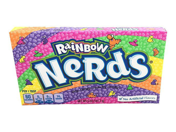 Wonka Rainbow Nerds Theatre Box 5.0oz/141.7g