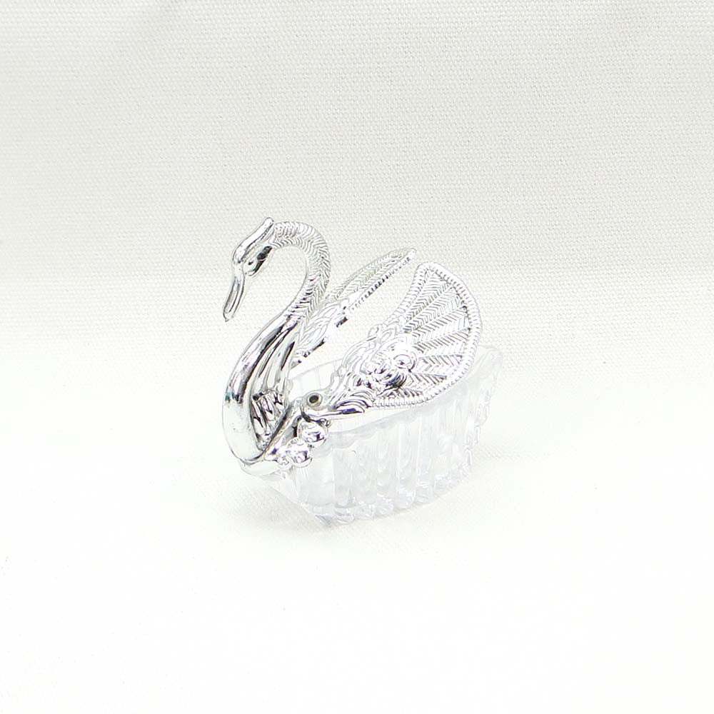 12 x Lovely White Color Swan Candy Box