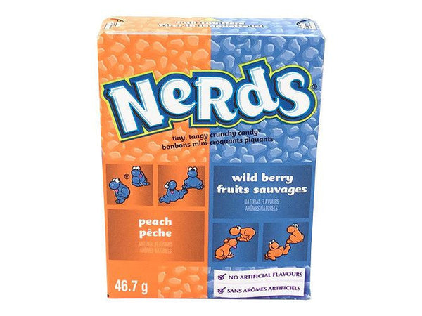 Nerds Wildberry and Peach 1.65oz/46.7g