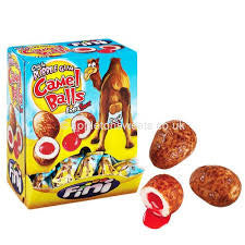 20 x Camel Balls - Novelty Liquid Filled Bubblegum Camel Balls