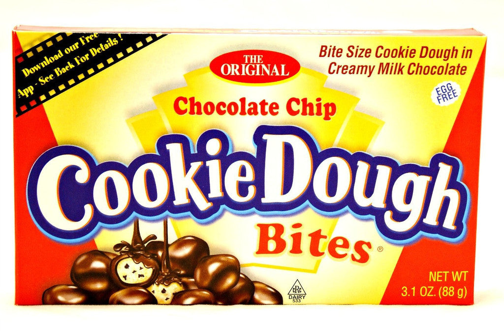 Cookie Dough Bites Chocolate Chip 3.1oz/88g