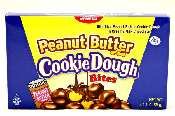 Cookie Dough Bites Peanut Butter 3.1oz/88g